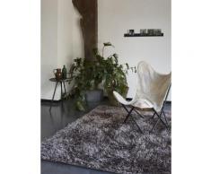 Tapis COOL GLAMOUR shaggy laiton Esprit Home Bronze 70x140 - Tapis et paillasson