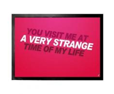 Fight Club Paillasson Essuie-Pieds - You Visit Me At A Very Strange Time Of My Life (70x50 cm) - Tapis et paillasson