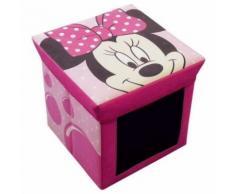 chaise bebe - tabouret bebe Fun House Disney Minnie tabouret rangement ardoise pour enfant - Chaises hautes et réhausseurs