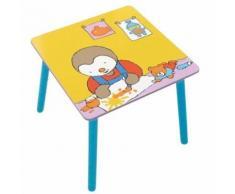 table bebe Fun House T'choupi table carree pour enfant - Tableau et pupitre enfant