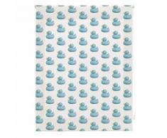 Store à enrouleur translucide à Impression numérique , enfant, canards, 150X180 cm - Rideaux et stores