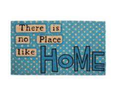 Chez-Soi Paillasson Essuie-Pieds - There Is No Place Like Home (40x70 cm) - Tapis et paillasson