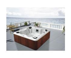 spa samoa 6 places assises - système balboa + station d'iphone intégré - 230x220x80cm - Jacuzzi et sauna
