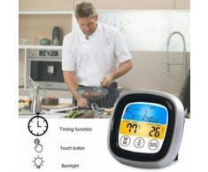 Thermomètre de BBQ pour le four viande Grill avec Bluetooth sondes de cuisson Led minuterie wedazano574 - Équipements électriques domotique