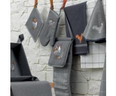 Sac à pain Chicken Gris 26×70 cm Les Ateliers du Linge Les Ateliers du Linge - Boîtes de conservation