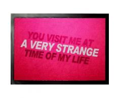 Fight Club Paillasson Essuie-Pieds - You Visit Me At A Very Strange Time Of My Life (60x40 cm) - Tapis et paillasson