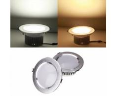 9W Downlight Plafonnier Encastrable Pas Dimmable COB 220V Blanc - Lampes