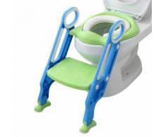 Toilette Bébé Enfant Petit Pot Siège Escabeau Échelle Chaise de Formation Réglable YEZB187 - Autre mobilier bébé