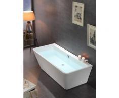 Baignoire rectangulaire moderne MISTRAL avec rebord mural - Installations salles de bain