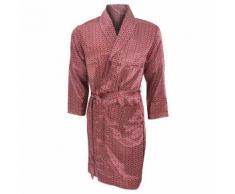 Robe de chambre légère traditionnelle - Homme (L) (Rouge) - UTN709 - Linge de bain