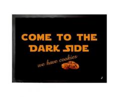 Humour Paillasson Essuie-Pieds - Come To The Dark Side, We Have Cookies (50x70 cm) - Tapis et paillasson