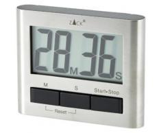 ZACK 20650 SAVIO MINUTEUR DE CUISINE MAGNÉTIQUE 6,6 X 8,3 CM - Accessoire de cuisine