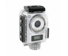 HP LC-100W blanche + CAISSON ETANCHE - Caméra sport