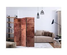 135x172 Paravent 3 volets Paravents 3 volets Esthetique Red Metal Sheet [Room Dividers] - Objet à poser