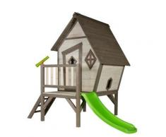 Maisonnette enfant sunny cabin xl en cèdre 260x167x215cm - Maisons de jardin