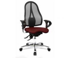 Topstar ST19UG27 Sitness 15 Fauteuil pour Bureau Métal Noir 44 x 48 x 115 cm - Sièges et fauteuils de bureau