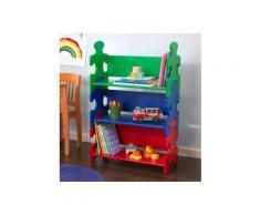 Etagère puzzle aux couleurs primaires Victor - Etagères enfant