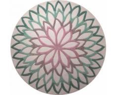 Tapis moderne Esprit Lotus Flower Bleu 250rd. - Tapis et paillasson