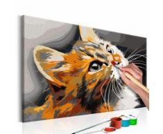 60x40 Tableau à peindre par soi-même Kits de peinture pour adultes Splendide même - Décoration murale