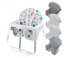 Housse d'assise pour chaise haute bébé enfant gamme Délice - Jungle - Chaises hautes et réhausseurs