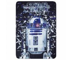 Plaid polaire Star Wars couverture R2D2 - Textile séjour