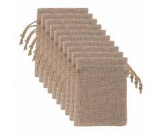 25Pc Sac de Soirée de Mariage Décoratif Candy Bag Sac Cadeau Sac de Vacances Linge Snpl430 - Rangement de l'atelier