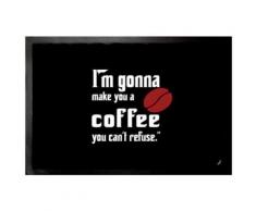 Don Corleone Paillasson Essuie-Pieds - I'm Gonna Make You A Coffee You Can't Refuse (40x60 cm) - Tapis et paillasson