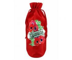 Deadly Detox Sac de bouteille Cyanide rouge - Linge de table