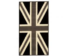 Tapis UNION JACK BLACK AND WITHE Tapis Enfants par Dezenco 80 x 150 cm - Tapis et paillasson