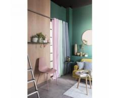 rideau - double rideaux Rideau a oeillets Tropik Summer Aurora - 140x240 cm - Rideaux et stores