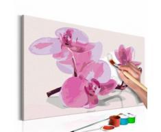 60x40 Tableau à peindre par soi-même Kits de peinture pour adultes Inedit même - Décoration murale