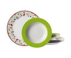 ritzenhoff & breker 002553 doppio shanti service de table 8 pièces - vaisselle