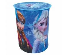 petit meuble de rangement - casier - panier Fun House Disney Reine des Neiges sac a linge pop up pour enfant - Caissons et casiers de bureau