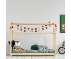 Lit maisonnette / Lit cabane - PANAMA - 90x190 cm - matelas Soft Sleep - Ensembles matelas et sommier