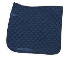 HORKA tapis de selle dressage bleu 55 x 50 cm - Toilettage du cheval