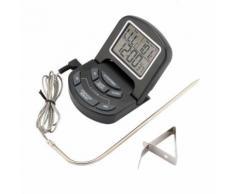 Thermomètre Numériques Pour Cuisine Avec Minuterie - Accessoires pour barbecue et fumoir