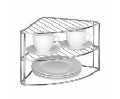 Etagère d'angle pour vaisselle - Étagère