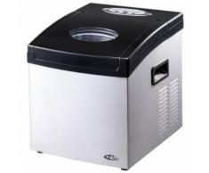 TECTAKE Machine à Glaçons 24 Glaçons en 15 à 30 Minutes 35 cm x 30,5 cm x 36 cm Gris - Eau, boisson et glaçons