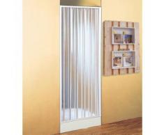 Porte à soufflet pour douche 80/110 cm ouverture latérale accessoires BK12100 - Installations salles de bain