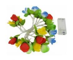Dyto guirlande de fleurs avec éclairage LED 200 cm - Equipements et accessoires de cyclisme