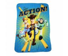 Plaid polaire Toy Story 150x180cm Couverture Woody Buzz - Textile séjour
