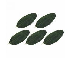 10 pcs Feuilles artificielles d'érable Doré 75 cm - Plantes artificielles