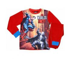 DC Comics Batman v Superman pyjama polaire rouge - Range pyjama
