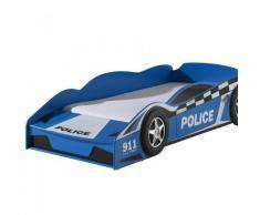 Vipack Funbeds Lit junior voiture de police - Lit pour enfant
