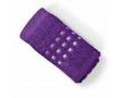 Linnea Serviette invité 33x50 cm PURE SQUARES Violet 550 g/m2