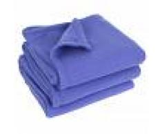 Linnea Couverture polaire 240x300 cm 100% Polyester 350 g/m2 TEDDY violet Liberty