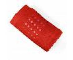 Linnea Serviette invité 33x50 cm 100% coton 550 g/m2 PURE POINTS Rouge