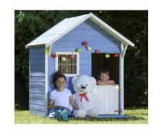 Promo - Maisonnette bois avec terrasse JANE