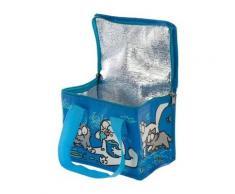 Sac isotherme 1001Kdo Pour La Maison Sac à repas isotherme Simon's cat bleu homme Unique