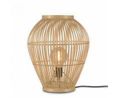 TUVALU-Lampe de sol Bambou H50cm naturel Good & Mojo